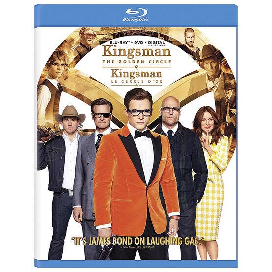 Kingsman The Golden Circle - Blu-ray