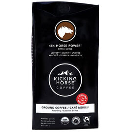 Kicking Horse Coffee 454 Horse Power - Dark Roast - Ground - 284g