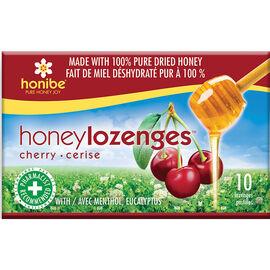 Honibe Honey Lozenges Wild Cherry - 10's