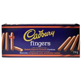 Cadbury Fingers - Peanut - 114g