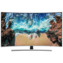 Samsung 55-in 4K UHD Curved TV - UN55NU8500FXZC