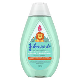 Johnson & Johnson No More Tangles 2-in-1 Shampoo And Conditioner - 400ml