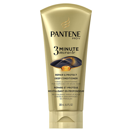 Pantene Pro-V 3 Minute Miracle Deep Conditioner - Repair & Protect - 180ml
