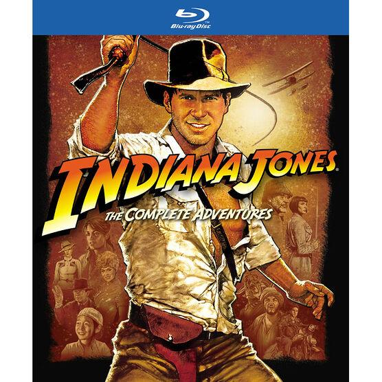 Indiana Jones The Complete Adventures - Blu-ray