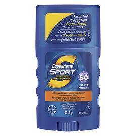 Coppertone Sport Sunscreen Stick - SPF50 - 42.5g