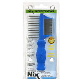Nix Premium Metal Two-Sided Comb - 02159