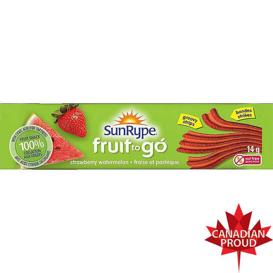 Sun-Rype Fruit To Go - Strawberry Watermelon - 14g