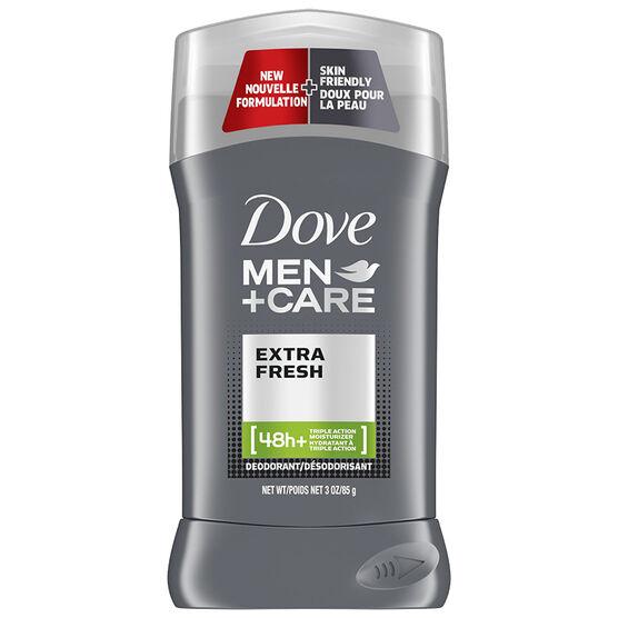 Dove Men +Care Extra Fresh Non Irritant Deodorant Stick - 85g
