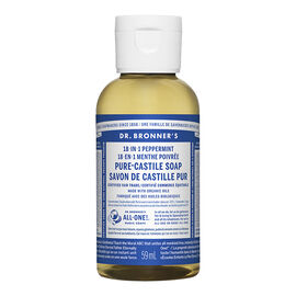 Dr Bronner's 18-In-1 Liquid Soap - Peppermint - 59 ml