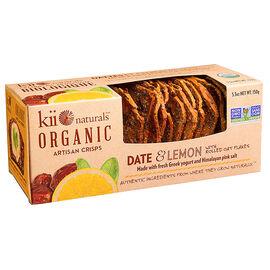 Kii Organic Crisps - Date and Lemon - 150g