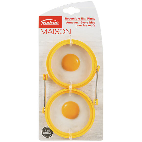 Trudeau Egg Rings -  Assorted - 2 pack