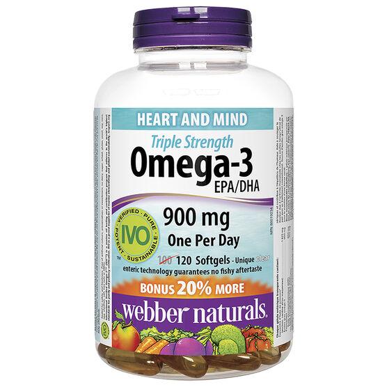 Webber Naturals Triple Strength Omega 3 - 100's