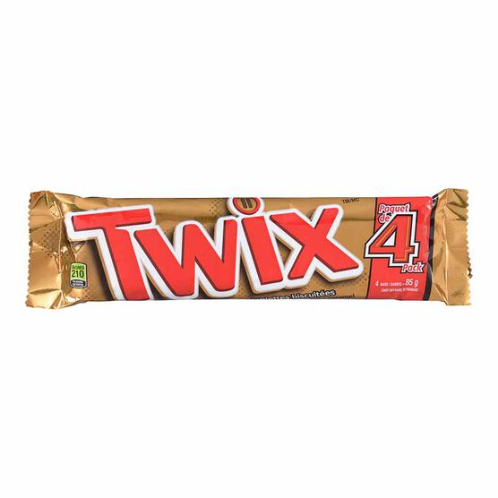 Twix Cookie Bars - 4 pack - 85g