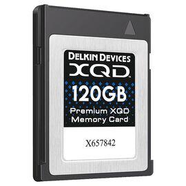 Delkin 120GB XQD Memory Card - DDXQD-120GB