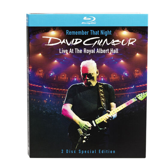 David Gilmour: Remember That Night Live - Blu-ray