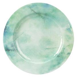 London Drugs Melamine Dinner Plate - Water Colour - 11in