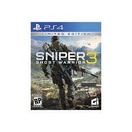 PS4 Sniper Ghost Warrior 3 Limited Edition