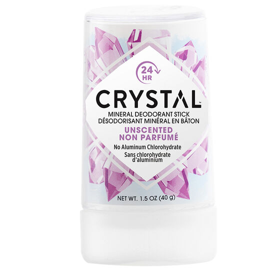 Crystal Stick Natural Deodorant - Travel Size - 40g