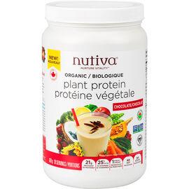 Nutiva Organic Plant Protein - Chocolate - 620g