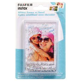Fuji Instax Mini Glitter Frame with Easel - Silver - 600019077