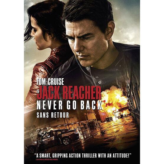 Jack Reacher: Never Go Back - DVD
