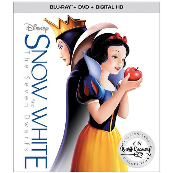 Snow White and the Seven Dwarfs - Blu-ray + DVD