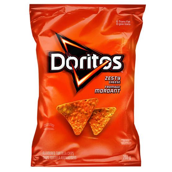 Doritos Tortilla Chips - Zesty - 255g