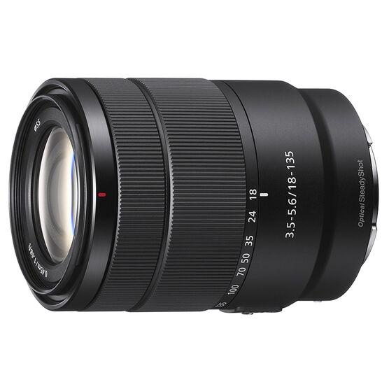 Sony E 18-135mm F3.5-5.6 OSS Lens - Black - SEL18135
