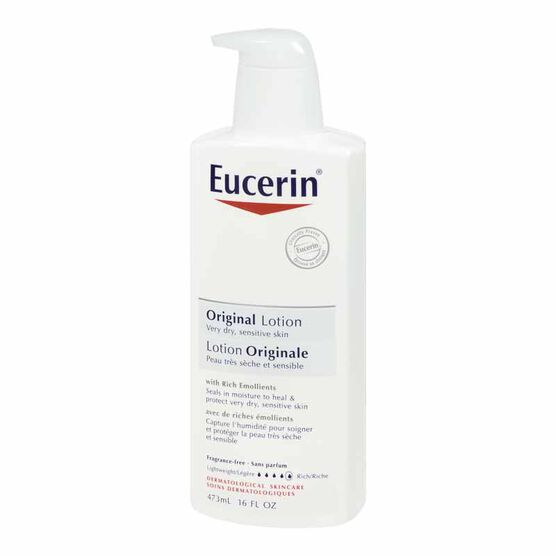 Eucerin Original Lotion for Dry and Sensitive Skin - 473ml