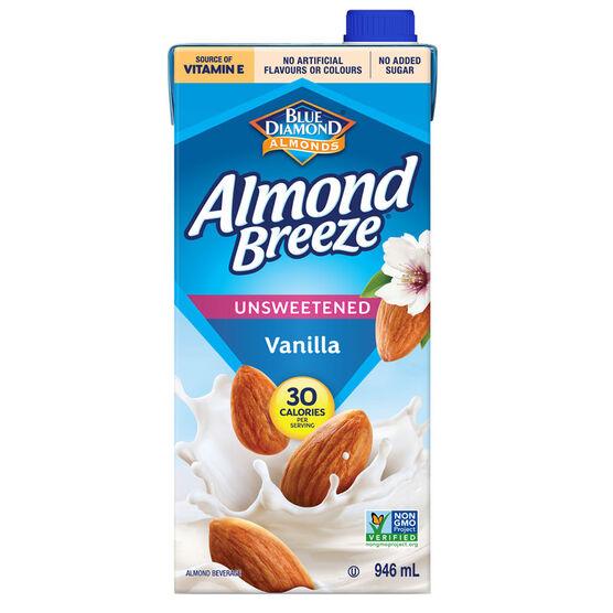 Almond Breeze - Vanilla - 946ml