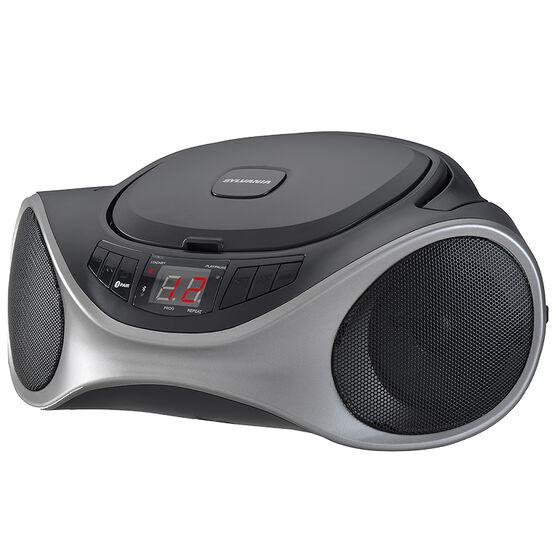 Sylvania Bluetooth Portable Stereo - Graphite - SRCD1063BTGRA