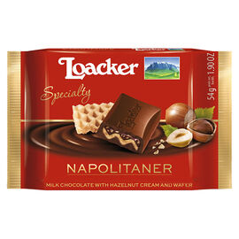 Loacker Wafer Chocolate Bar - Napolitaner - 54g