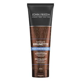 John Frieda Brilliant Brunette Multi-Tone Revealing Conditioner - 250ml