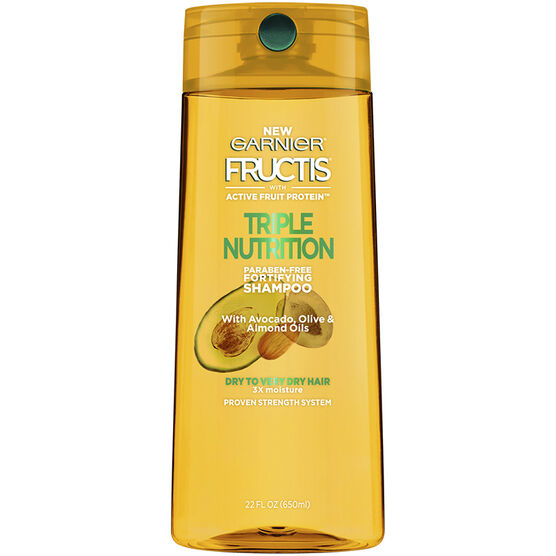 Garnier Fructis Triple Nutrition Shampoo - 650ml