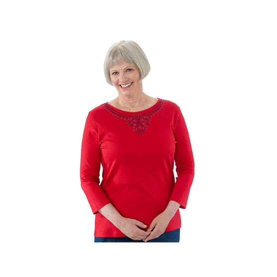 Silvert's Women's Long Sleeve T-Shirt