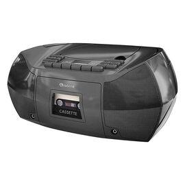 Borne CD Cassette BoomBox - Black - PRCDT550BK