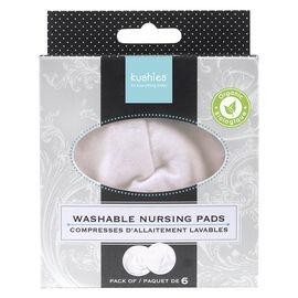 Kushies Organic Jersey Nursing Pads - White