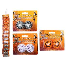 Halloween LED Tea lights - 2's - Assorted