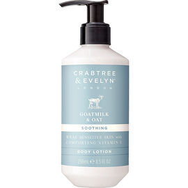 Crabtree & Evelyn Goatmilk & Oat Soothing Body Lotion - 250ml