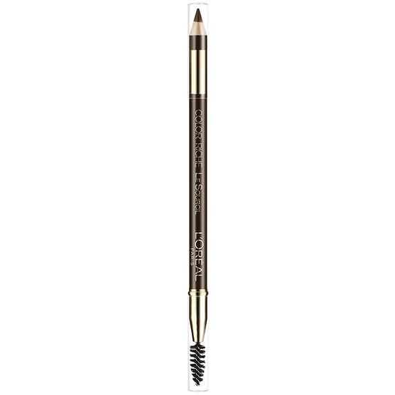 L'Oreal Color Riche Le Sourcil Brow Pencil - Dark Brown