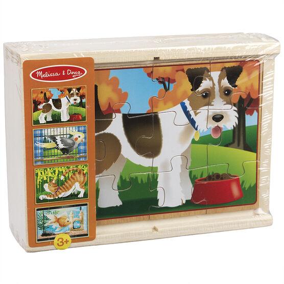 Melissa & Doug - Pet Puzzles in a Box