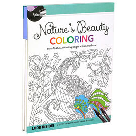 Spicebox Natures Beauty Colouring Book