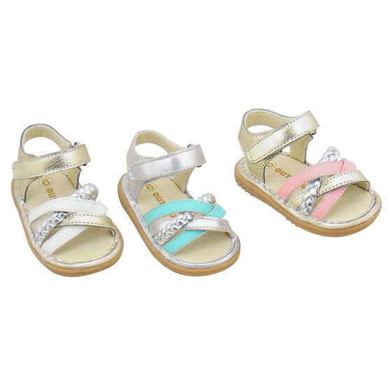 Outbaks Cabana Leather Sandals - Size 5-7 - Assorted