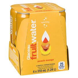 Glaceau FruitWater - Peach Mango - 4 x 310ml