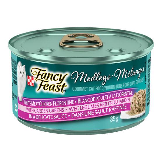 Fancy Feast Medley - White Meat Chicken Florentine - 85g