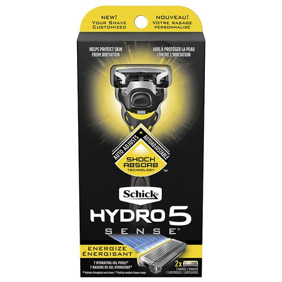 Schick Hydro 5 Sense Energize Men's Razor