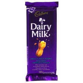 Cadbury Dairy Milk Chocolate Bar - Sweet & Salty Peanut - 100g