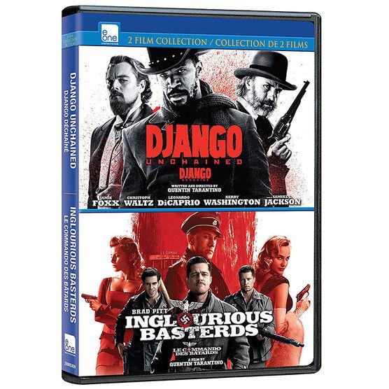 Django Unchained / Inglourious Basterds - DVD