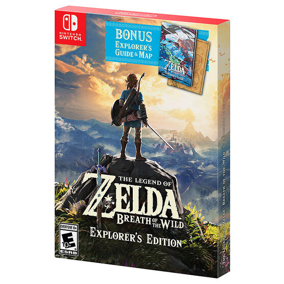 Nintendo Switch The Legend of Zelda: Breath of the Wild Explorer's Edition