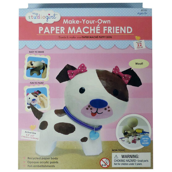 My Studio Girl Make Your Own Paper Mache - Dog